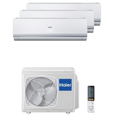 Мульти сплит система Haier AS09NS4ERA-Wx3 / 3U24GS1ERA(N)